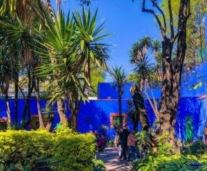 casa azul déco bleue