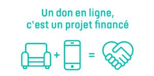 un don en ligne projet financé