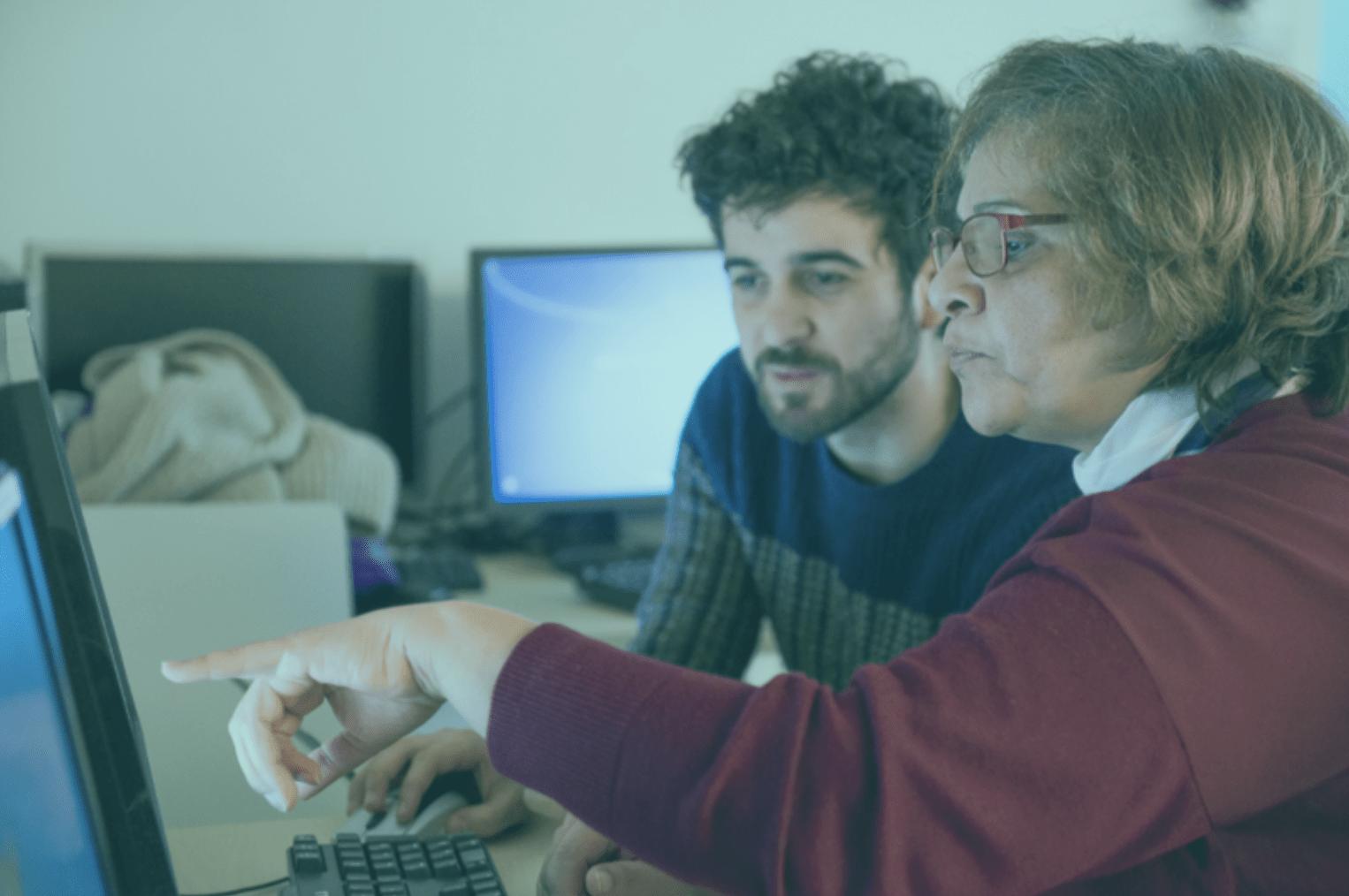L'alliance d'Emmaüs Connect et des Eaux Vives pour l'inclusion numérique à Nantes