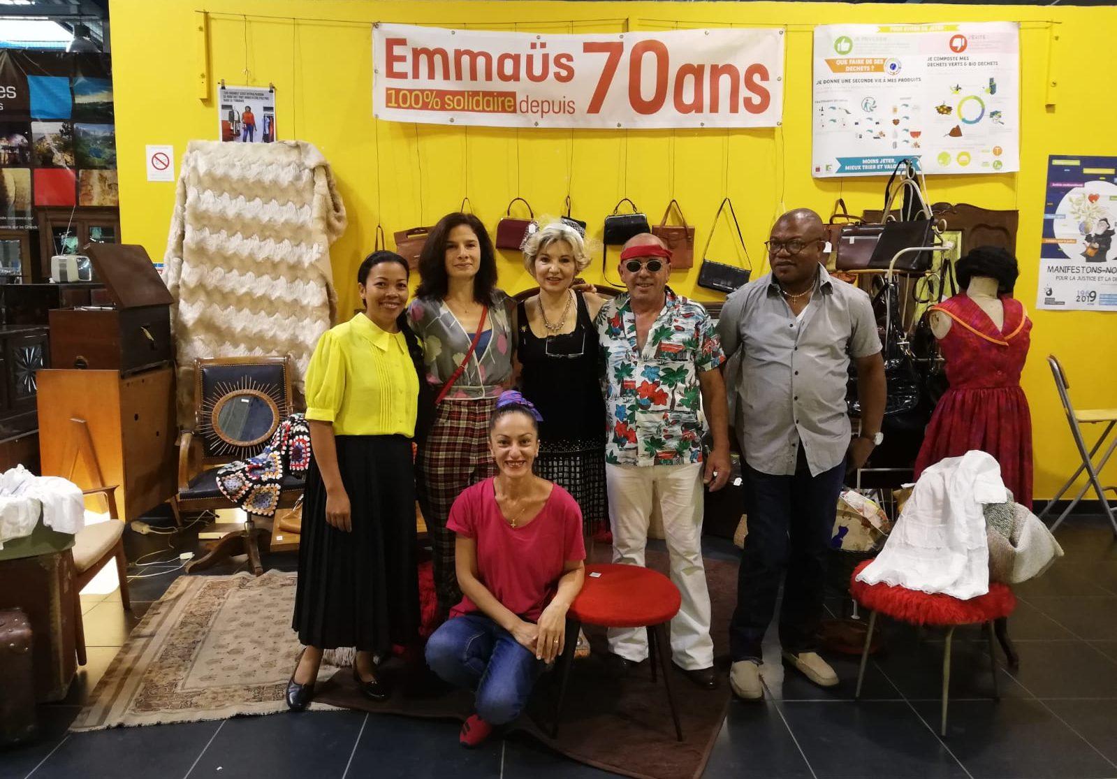 Le projet d'Eco Ateliers d'Emmaüs Toulouse